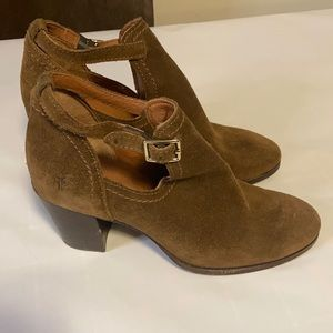 Frye Suede Booties size 6